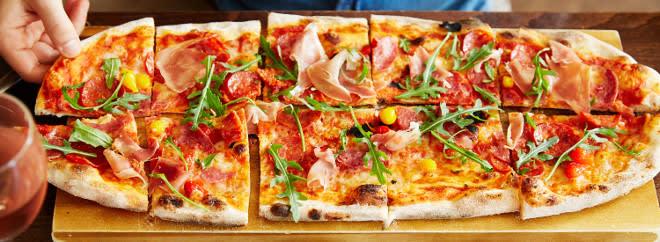 Prezzo pizza menu
