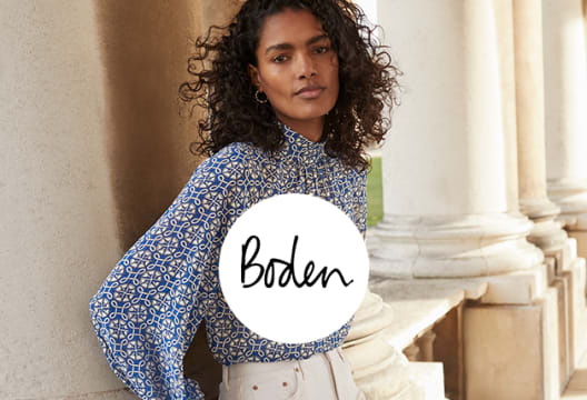 20% Discount + Free Delivery on Orders £30 at Boden