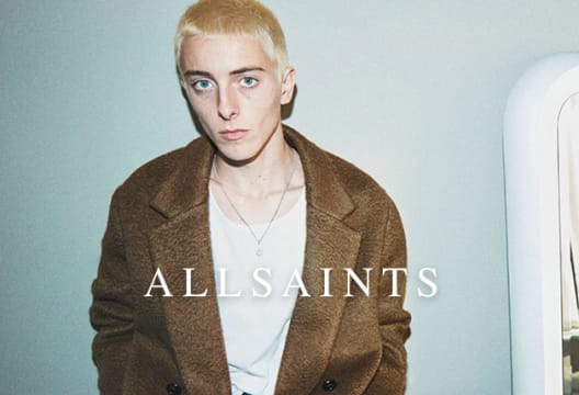 Sign-up to Newsletters at AllSaints and Save 15% on Your First Order