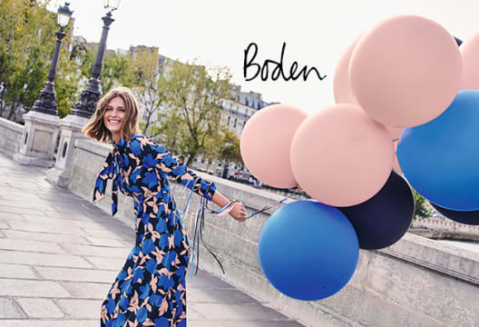 £5 Gift Card with Orders Over £80 at Boden