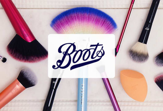 50% Discounts on Selected Sleek Make-up Orders at Boots