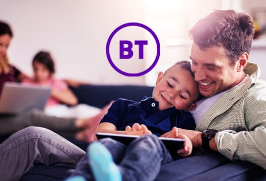 BT Broadband Offer - Fibre 2 Packages Start at £29.99 + £90 Reward Card