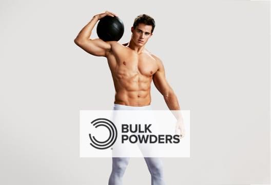 Get a 45% Discount at Bulk Powders