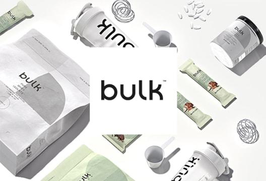 Enjoy 45% Off Orders Over £30 at Bulk