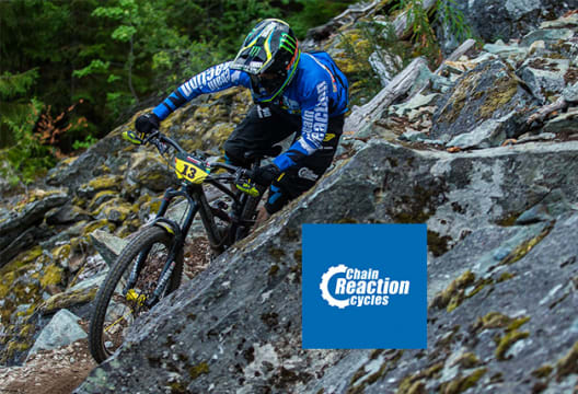 At Chain Reaction Cycles Get a £10 Discount on Your First Order with Newletter Sign-ups