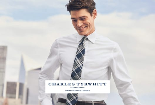 Use this Code for 10% Off Orders Plus Free Delivery at Charles Tyrwhitt