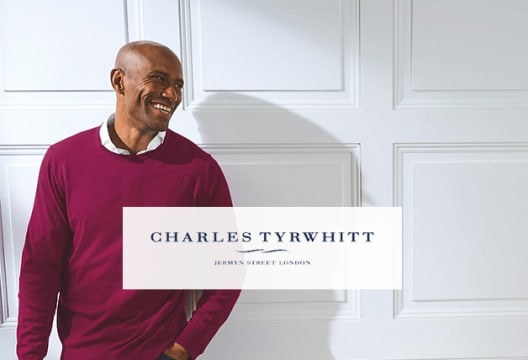 Use Our Charles Tyrwhitt Discount Code for 15% Off Plus Free Delivery on Orders Over £100
