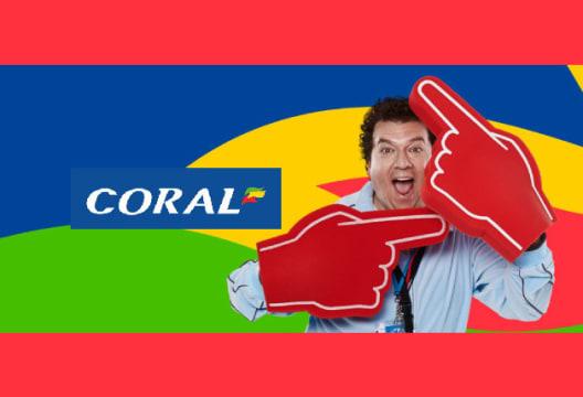 Enjoy a £50 Welcome Bonus at Coral