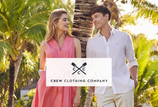 Spend £60+ to Get a 15% Discount at Crew Clothing