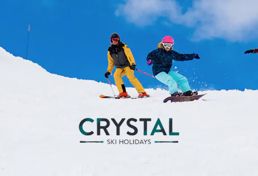 Use This Code to Save £100 on Bookings at Crystal Ski Holidays