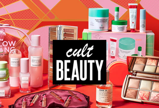 Grab a 15% Saving on First Orders Over £20 at Cult Beauty