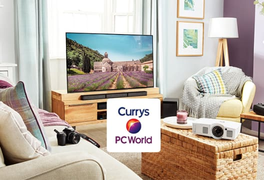 5% Off All Large Kitchen Appliances Orders Over £399 at Currys PC World