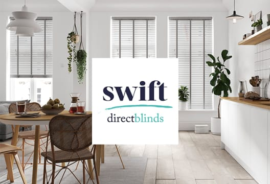 £10 Gift Card with Orders Over £110 at Swift Direct Blinds