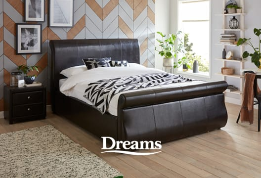 Save Now with up to £850 Off in the Clearance at Dreams Beds