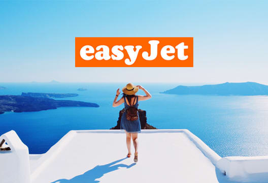 £100 Saving on Package Holiday Bookings Over £700 at easyJet Holidays