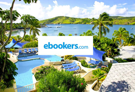 Spend £500+ on a Package Holiday to Get £60 Off at ebookers