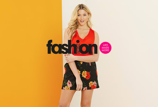 Enjoy 20% Off and Free Delivery at Fashion World