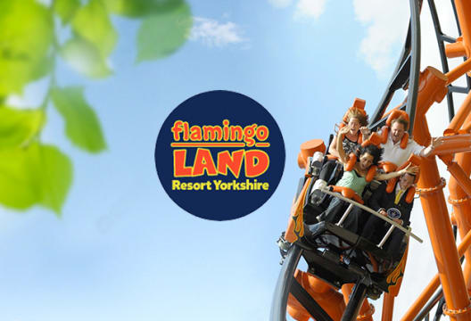 Get 30% Off Tickets with Kids Pass at Flamingo Land