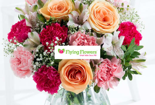 Have Your Order Delivered Free at Flying Flowers