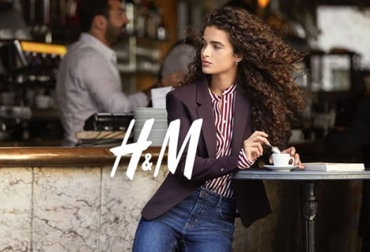 Grab 10% Off Your First Order When You Are a Member at H&M