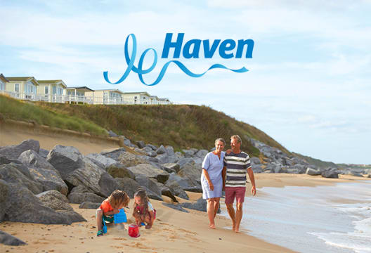 £25 Gift Card with Upfront Bookings Over £400 at Haven Holidays