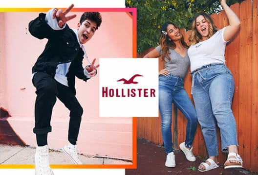 Sign-up for Cali Club Membership and Get £10 Off Your Next Order Over £50 at Hollister