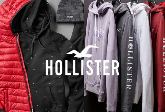 Hollister: Enjoy Buy One Get One Half Price on Almost Everything