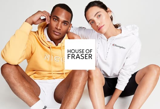 Enjoy Savings of up to 50% on Orders at House of Fraser