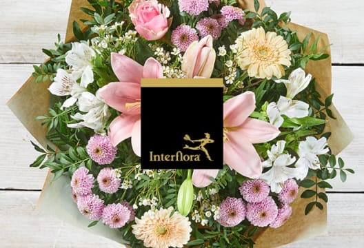 Shop Thank You Flowers at Interflora from £30