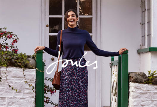 Get £10 Off Plus Free Delivery When You Sign-up to the Joules Newsletter