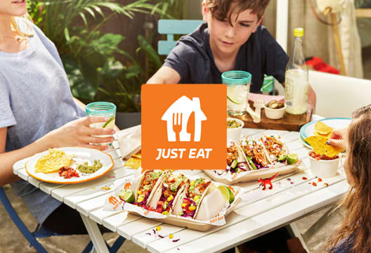 Enjoy up to 30% Off Selected Takeaways Including Chinese, Italian and Indian  at Just Eat