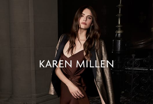 Enter This Code for £10 Off Orders Plus 25% Off Everything at Karen Millen