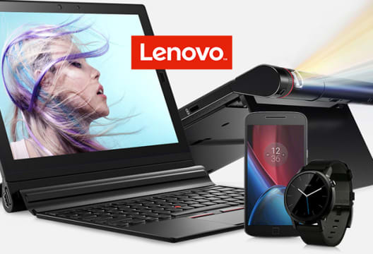 Save up to 40% at Lenovo Now in the Sale