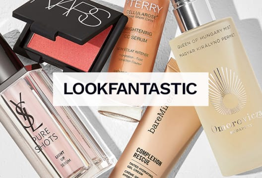 Head to LOOKFANTASTIC to Save 15% on First Orders