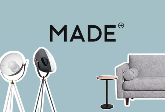 Spend £500 at Made and Enjoy £50 Off