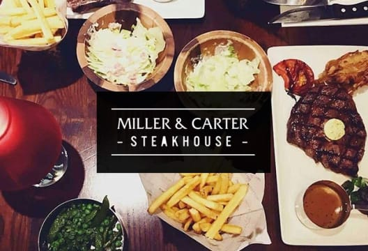 Book your Table Online Today at Miller & Carter
