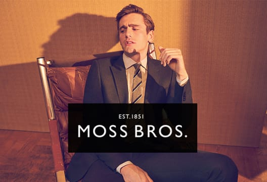 Bag an Extra 20% Saving on Outlet Orders at Moss Bros