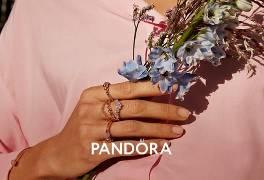 Shop the Outlet at Pandora with as Much as 60% Savings