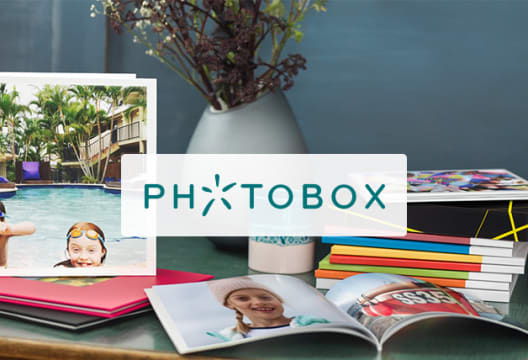 Save 40% on PhotoBox Orders