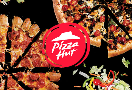 Buy 1 Get 1 Free When you Order a Medium or Large Pizza at Pizza Hut