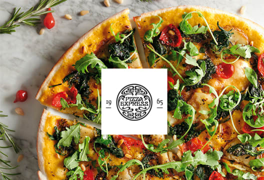 Pizzas Start from £10.65 at PizzaExpress