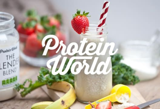 Use this Code and Receive 35% Off Your Order at Protein World