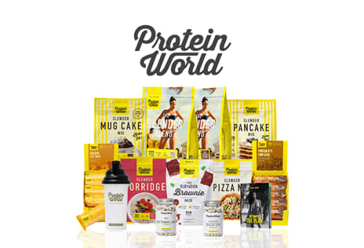 Head to Protein World to Save 30% on Orders