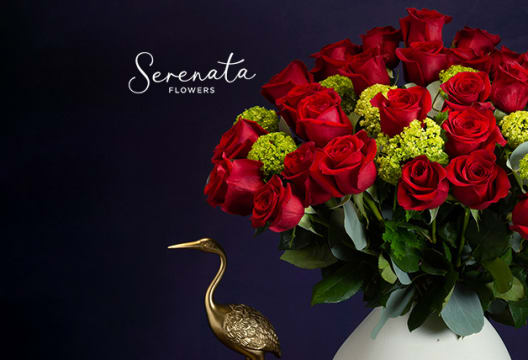 Enjoy a 10% Saving on Your Shop at Serenata Flowers