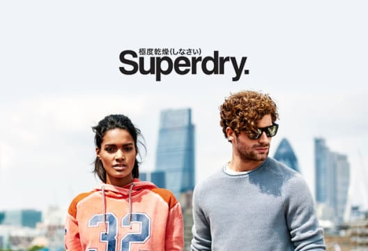 Find a Discount of up to 50% on Selected Items at Superdry