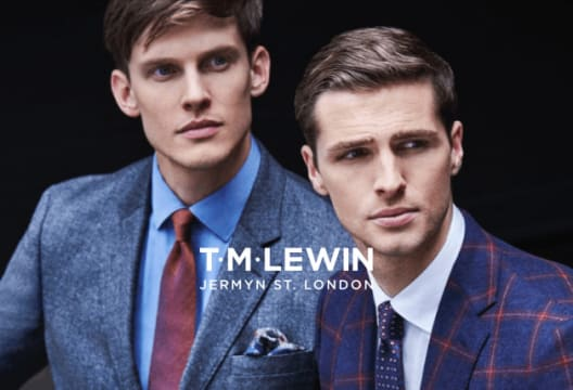 Shop the T.M.Lewin Outlet for up to 60% Off Purchases