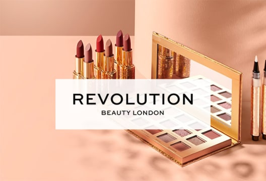 At Revolution Beauty You Can Get up to 50% Off Sale Orders