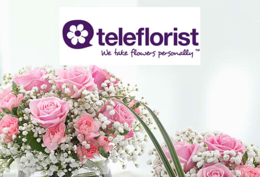 10% Saving on Orders at Teleflorist