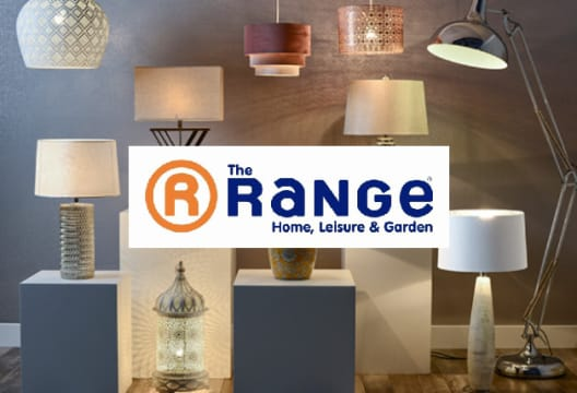Selected Orders at The Range are Reduced by up to 50%