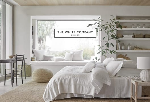 Mid Season Sale: Get up to 50% Off Fashion and Home at The White Company
